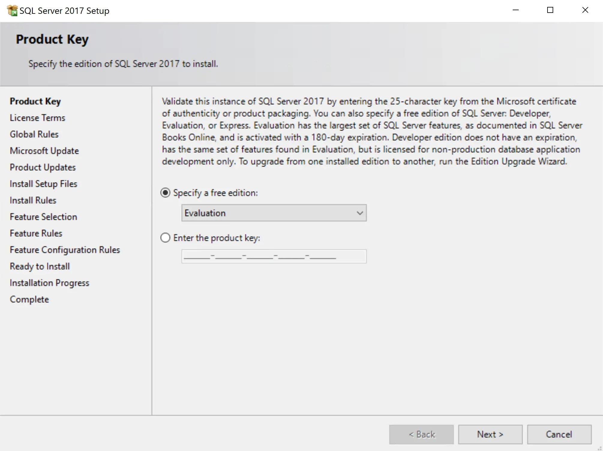 SQL Server 2017 Step by step for SCCM Installation 3