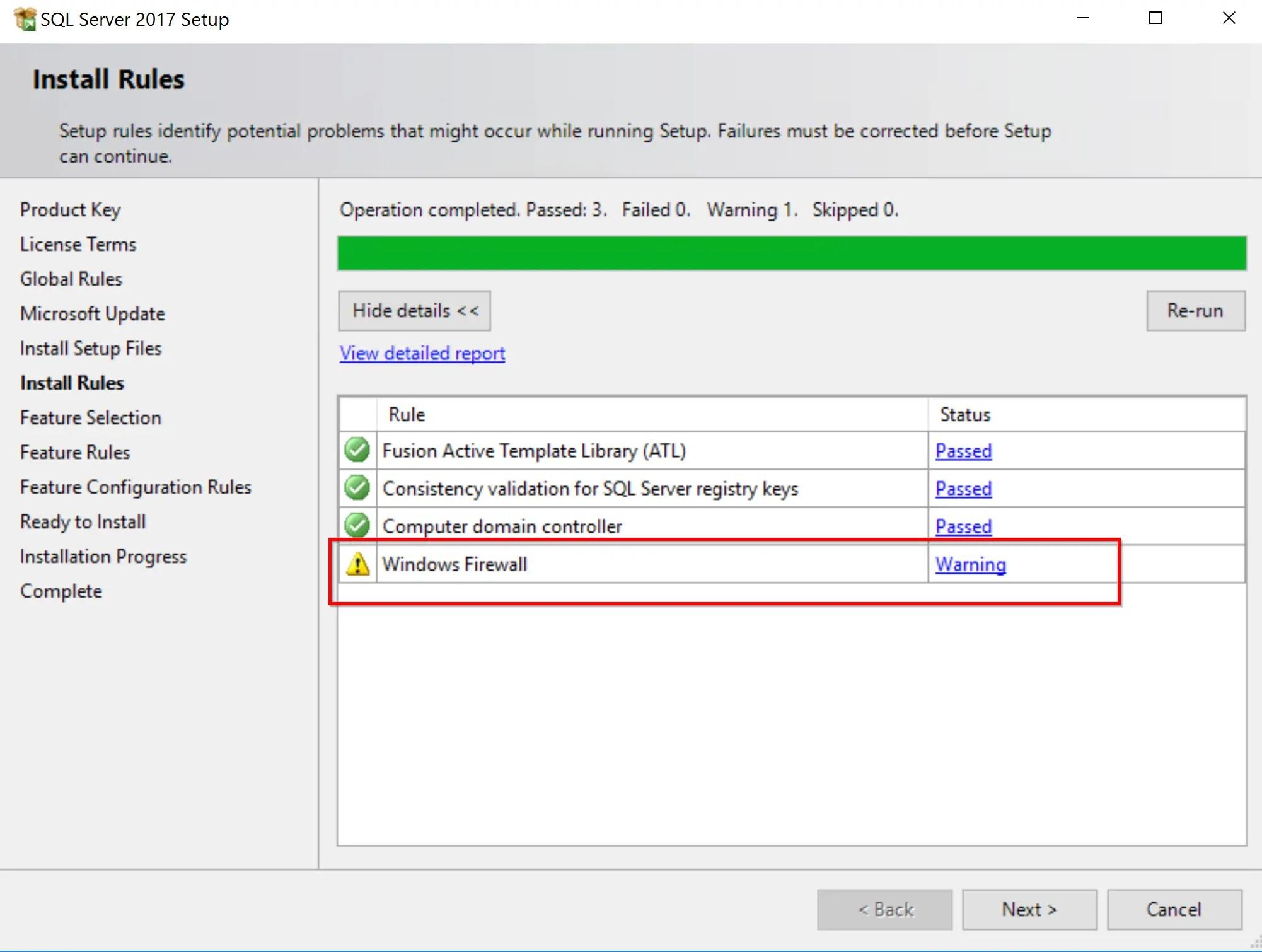 SQL Server 2017 Step by step for SCCM Installation 6