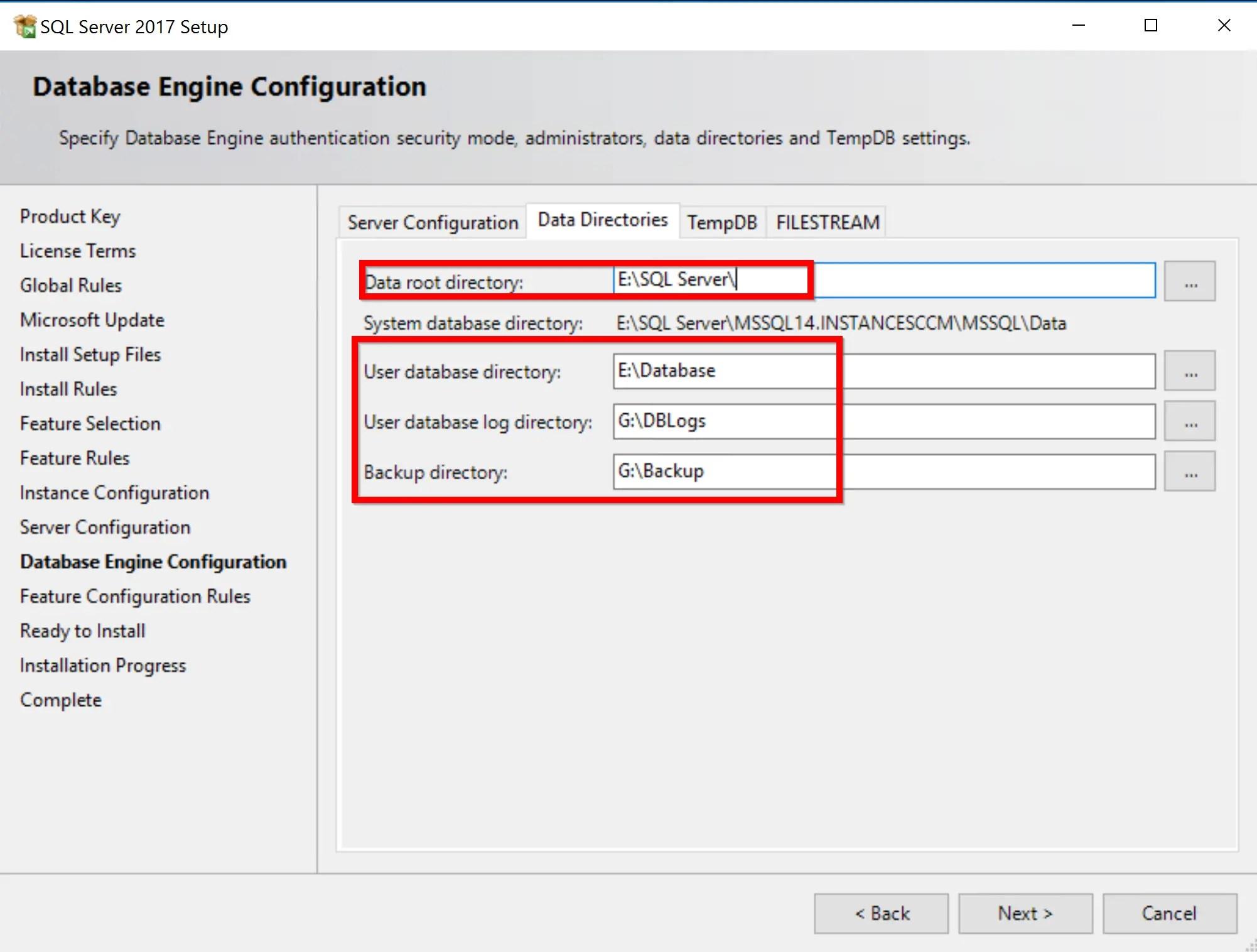 SQL Server 2017 Step by step for SCCM Installation 12
