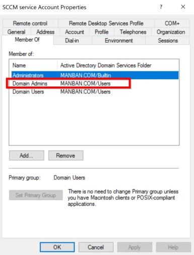Preparing Active Directory for SCCM 2