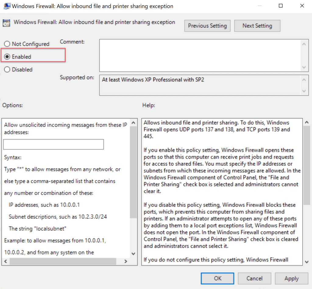 Group Policy required for Clients to communicate for SCCM tasks 6