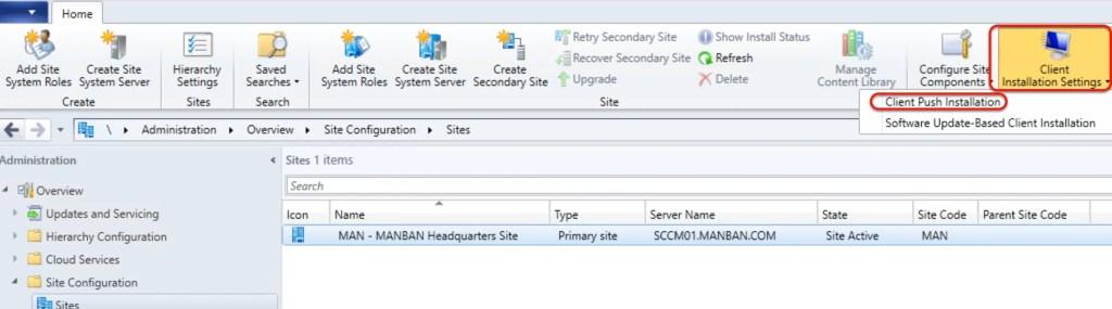 SCCM Automatic Client Push Installation 5