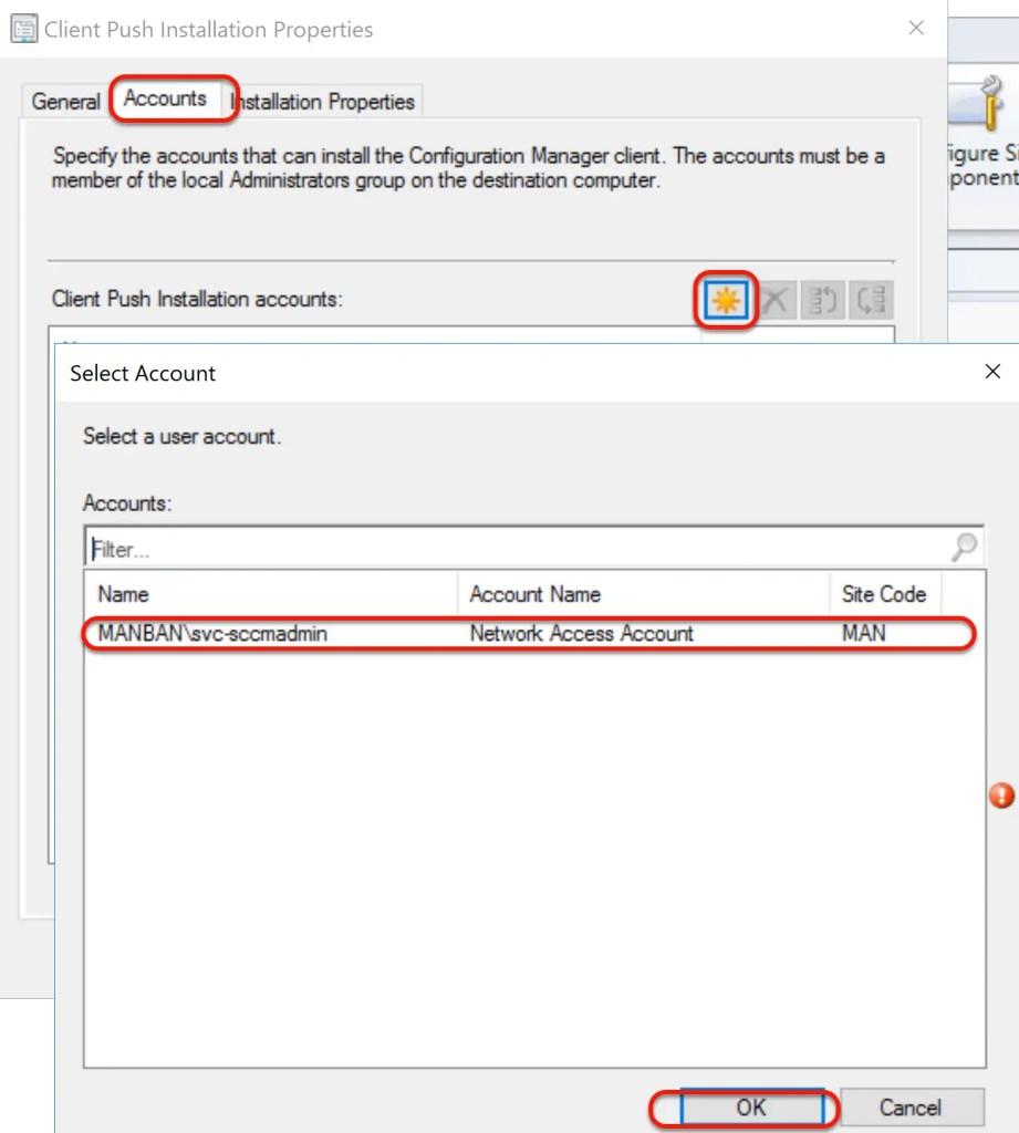 SCCM Automatic Client Push Installation 7