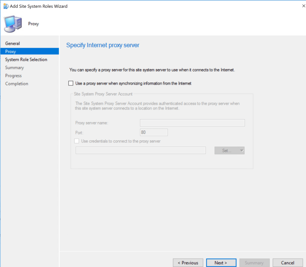 Reporting Services Point Role Installation - SCCM 2