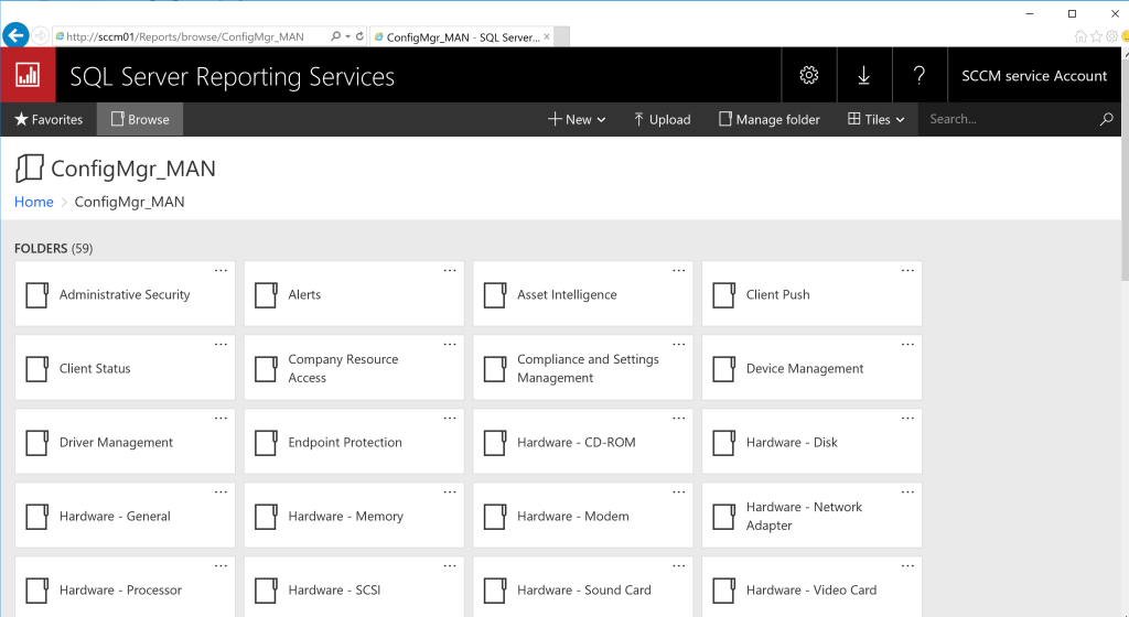 Reporting Services Point Role Installation - SCCM 10