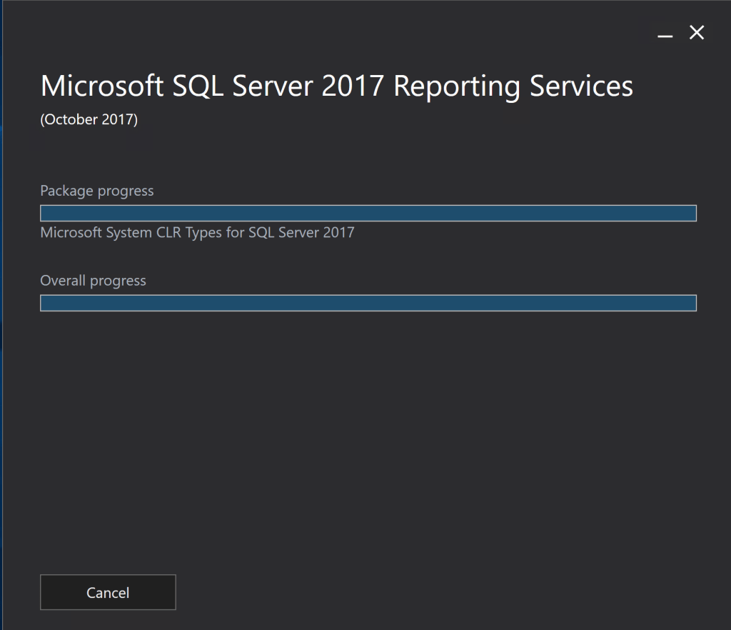 Install SQL Server 2017 Reporting Services 3