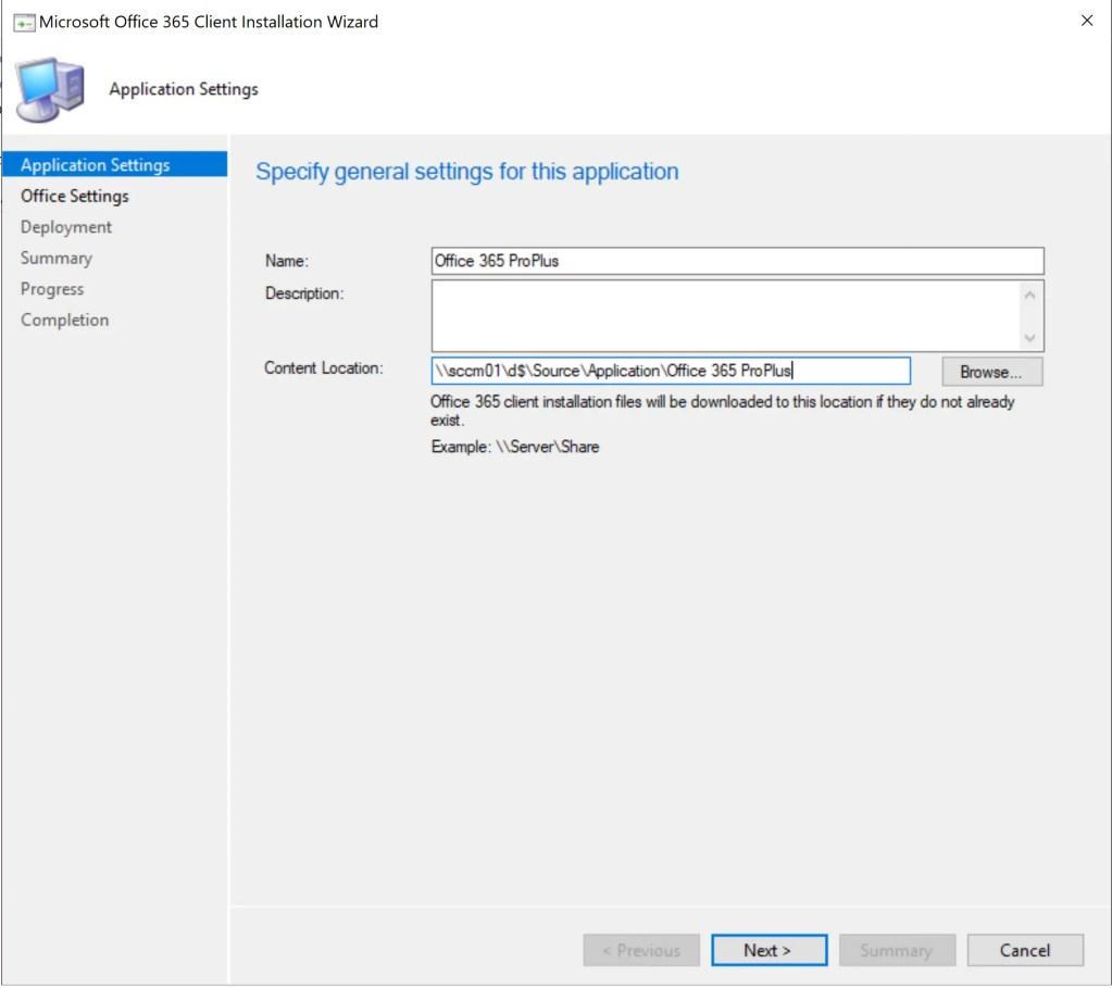Deploy Office 365 through SCCM 2