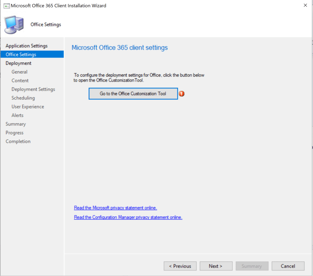 Deploy Office 365 through SCCM