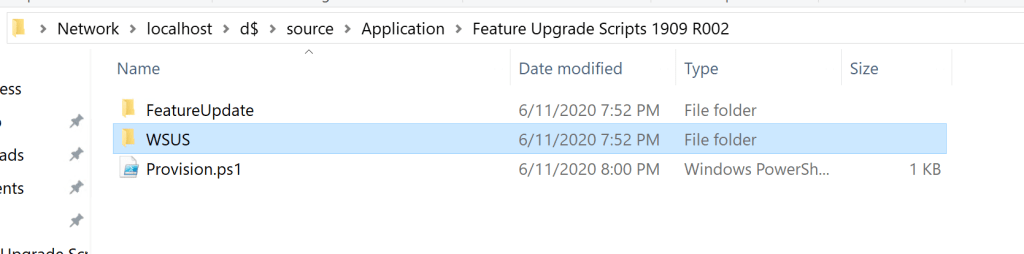 How to deploy drivers using Setupconfig.ini for feature update through SCCM 1