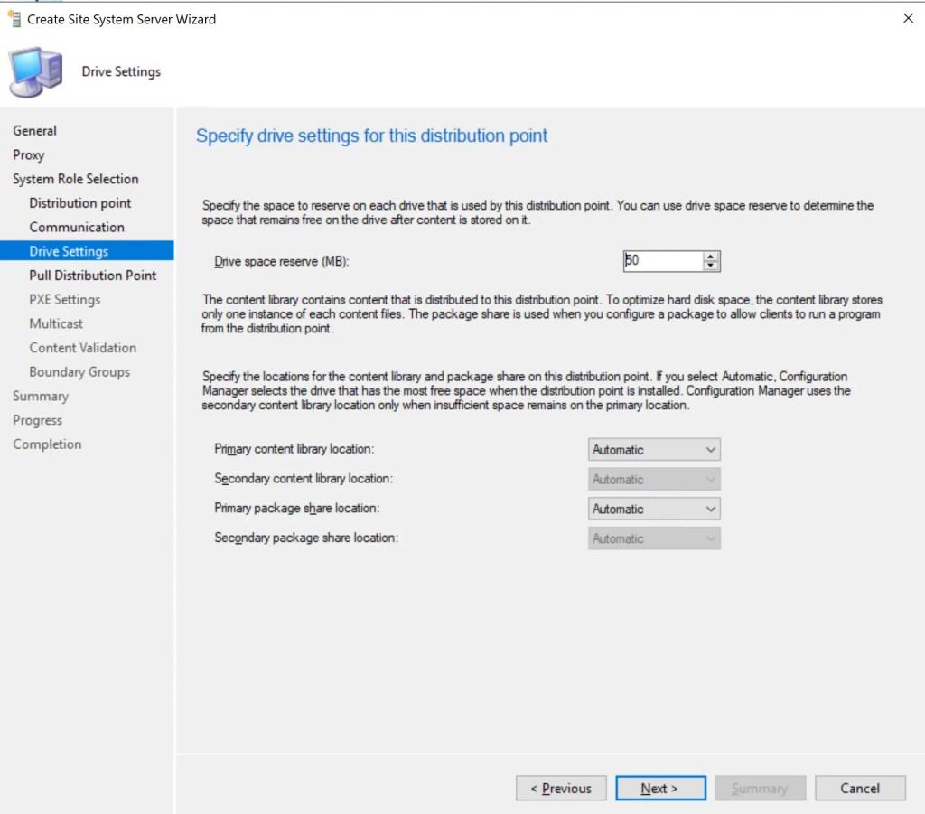 Install Configure SCCM Distribution Point 10