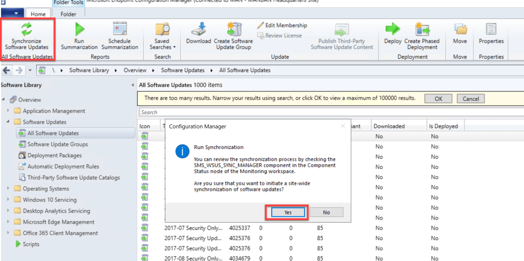 Deploy Feature Update Win10 2004 SCCM 4