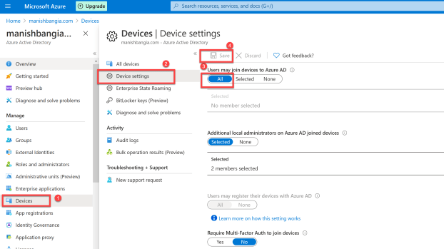 Configure Hybrid Azure AD join 1