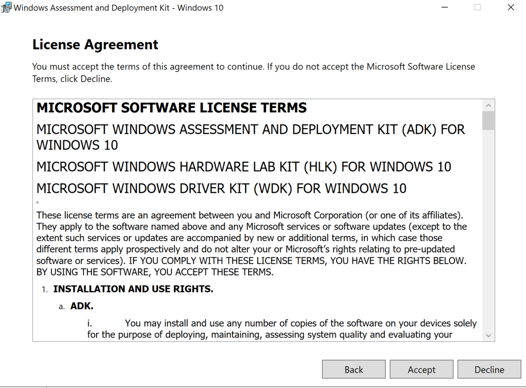 How to update Windows ADK 2004 on SCCM Server 5
