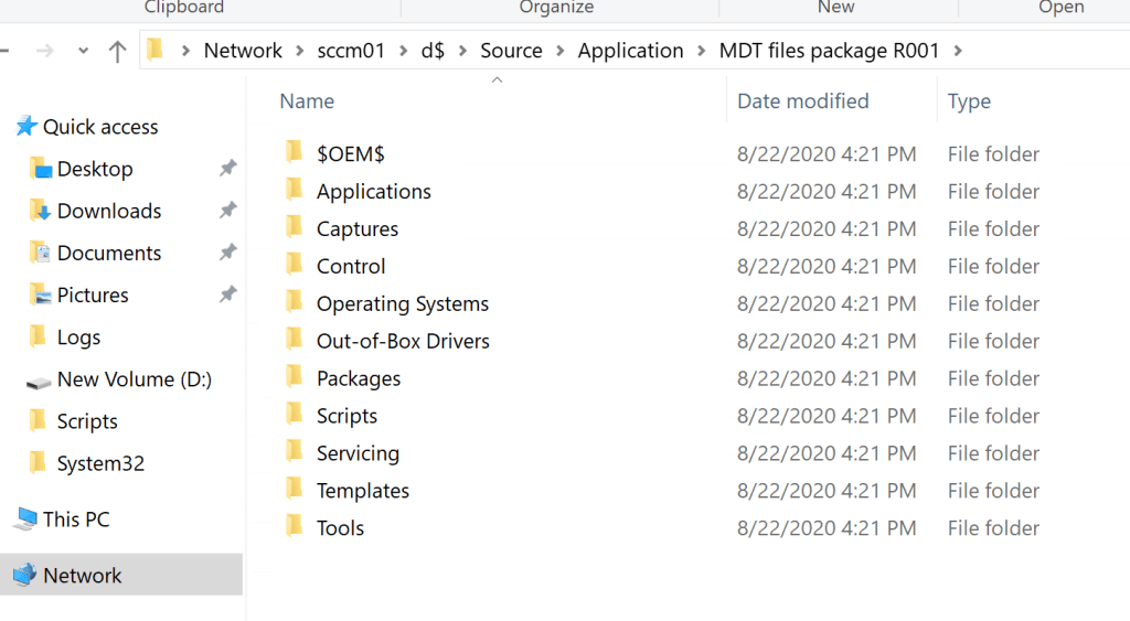 MDT Files Package