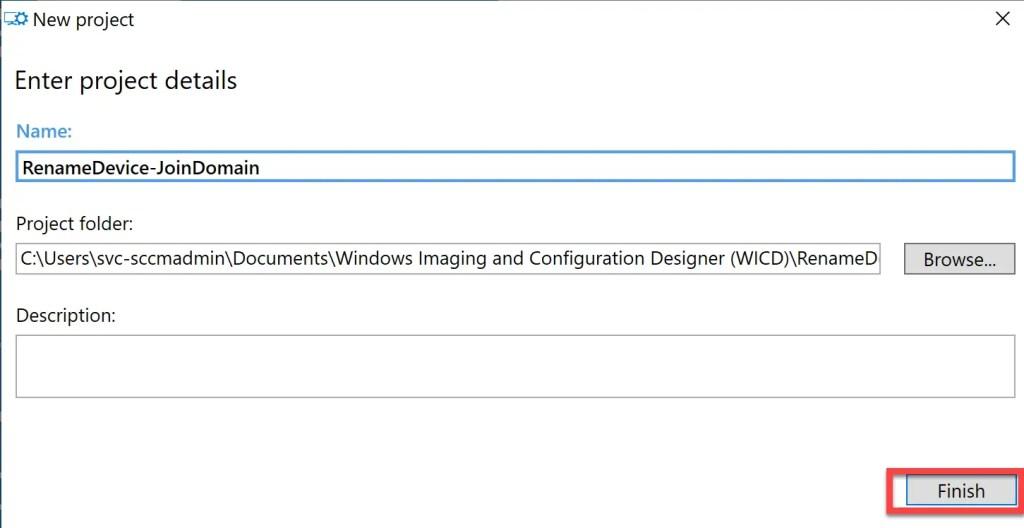 Create provisioning package using Windows Configuration Designer 3