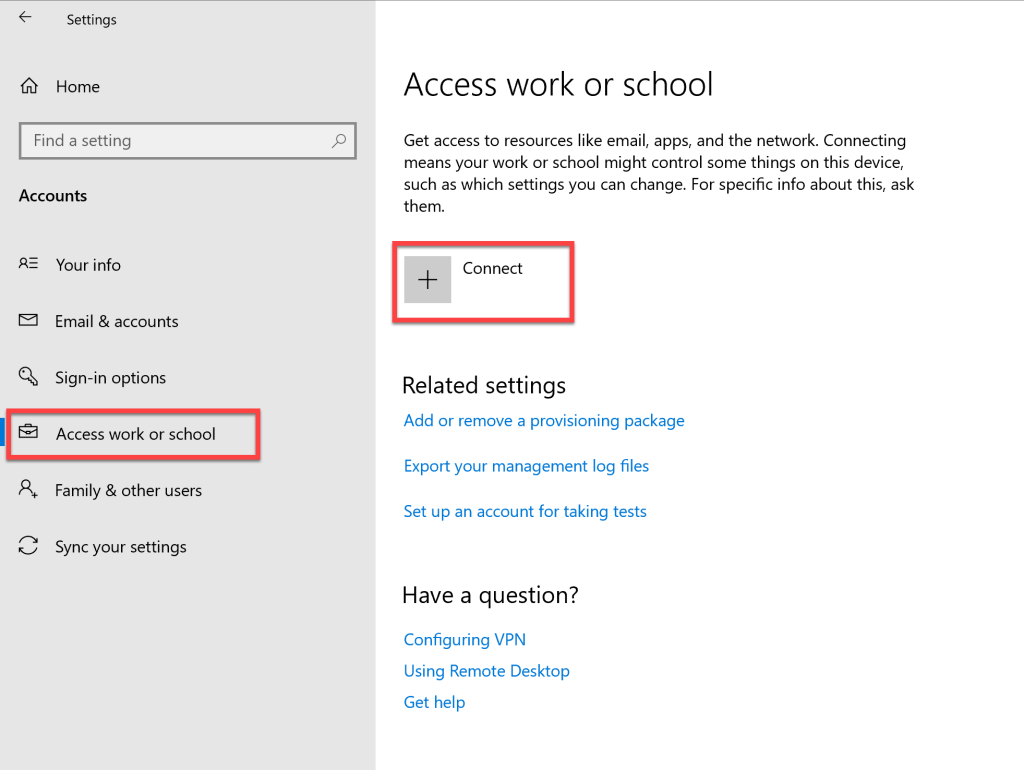 How to register Windows 10 device to Azure AD 2