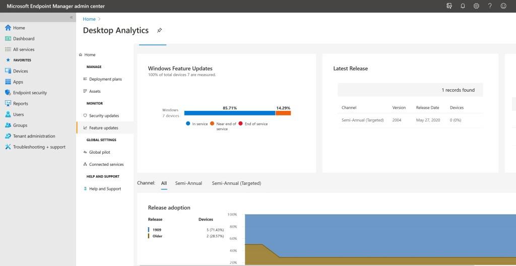 Set up Desktop Analytics to integrate with SCCM 26