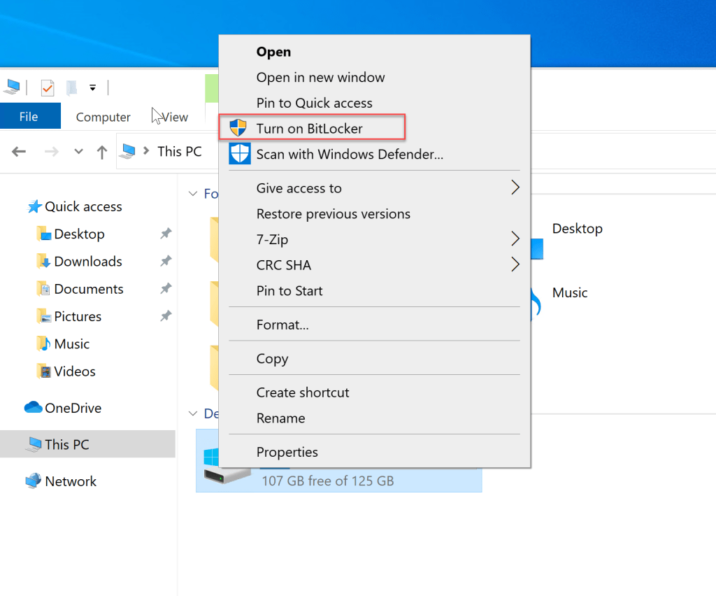 How to Turn on BitLocker Encryption without TPM 5