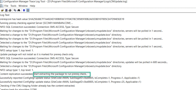 SCCM 2103 Step by Step Upgrade Guide 10