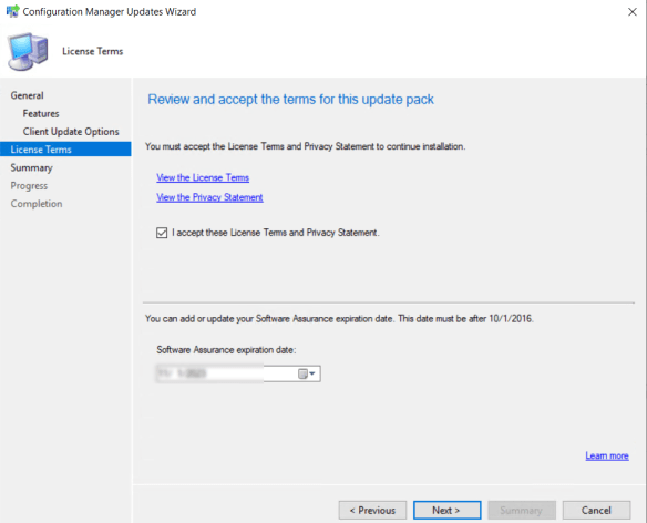 SCCM 2103 Step by Step Upgrade Guide 16