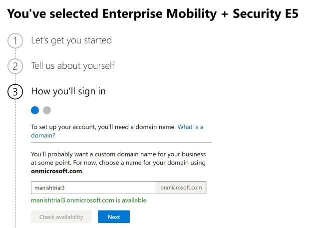 Create and setup Microsoft Intune Account- MEM 3