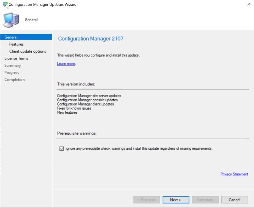 SCCM 2107 – Step by step upgrade guide for ConfigMgr 2107 9