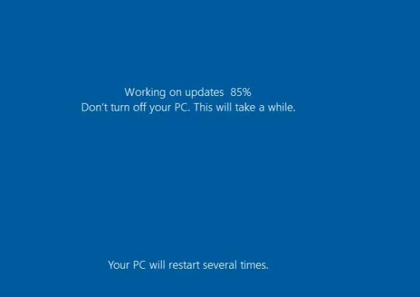 Working on updates
