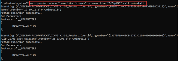 How to Uninstall Package using command line 4