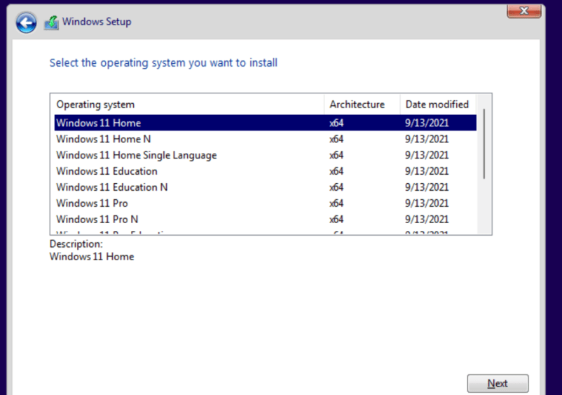 Windows 11 Consumer Edition