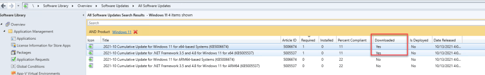 Deploy Windows 11 Software Update using SCCM 6