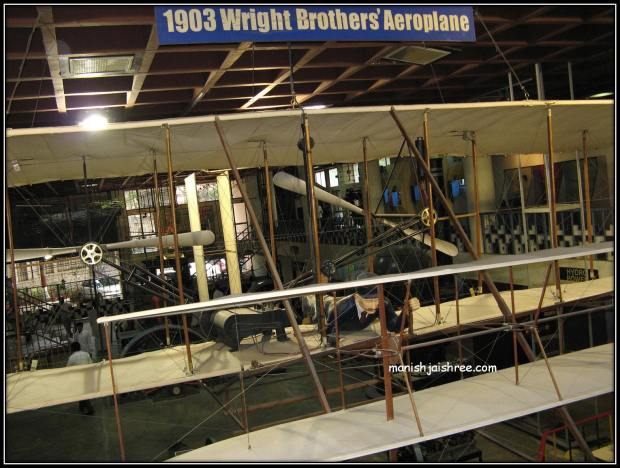 model of Wright Brother's Plane