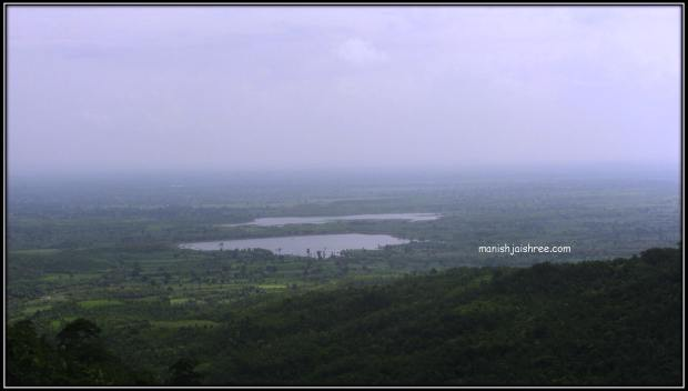 waterbodies as seen from the Songarh Fort