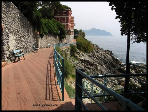 Promenade of Nervi