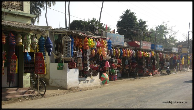 Colorful Pipli Market