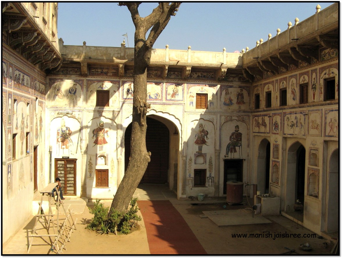 The Nohra in Morarka Haveli, Nawalgarh
