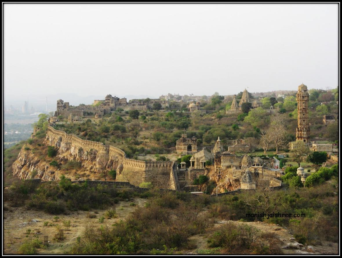 The sprawling Fort