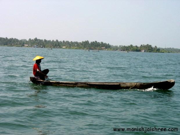 Fisherman at kollam