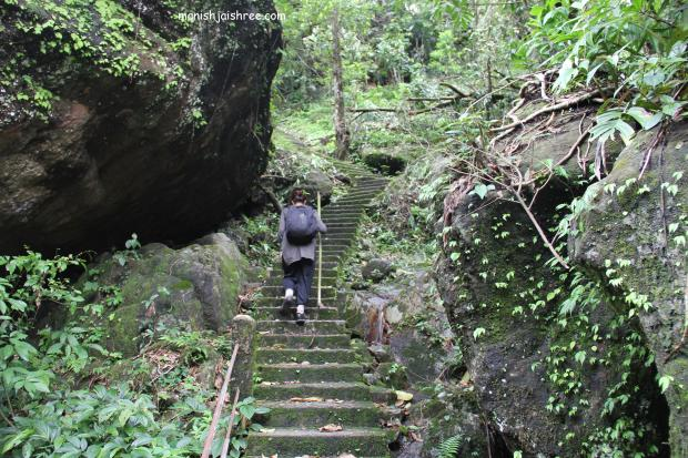 Trek to Double-decker root bridge, Cherrapunjee, Meghalaya