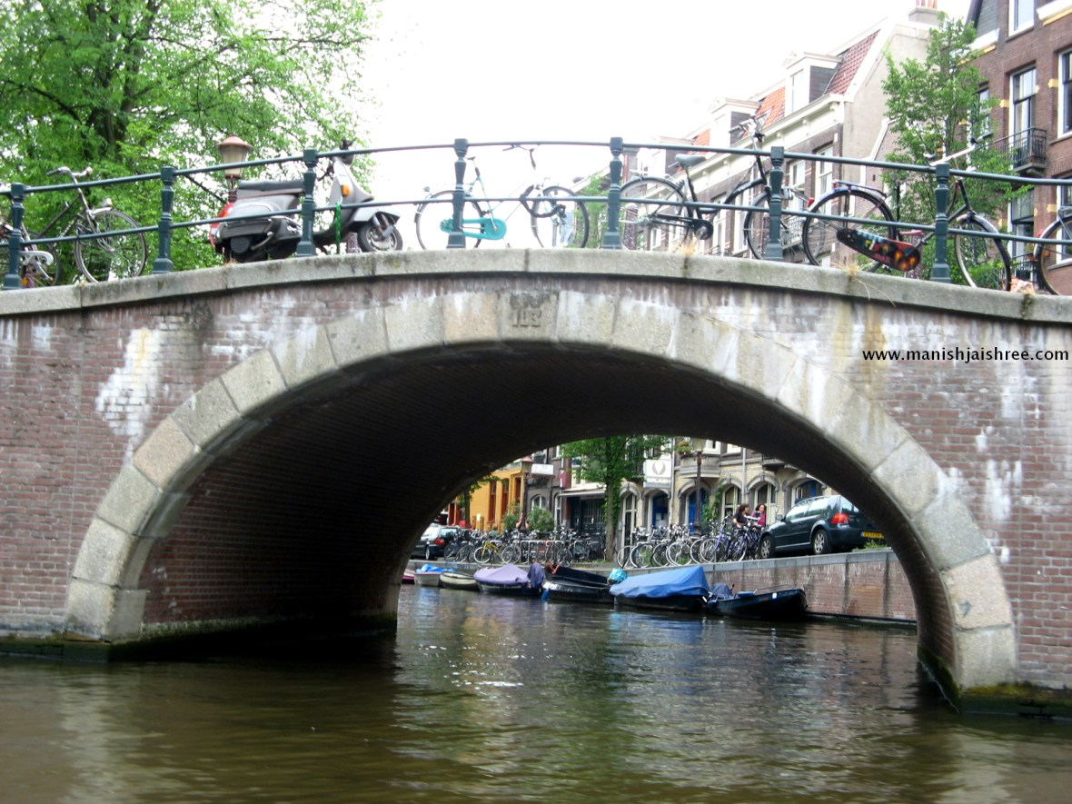 Bridges-Bicycles-Boats Define Amsterdam