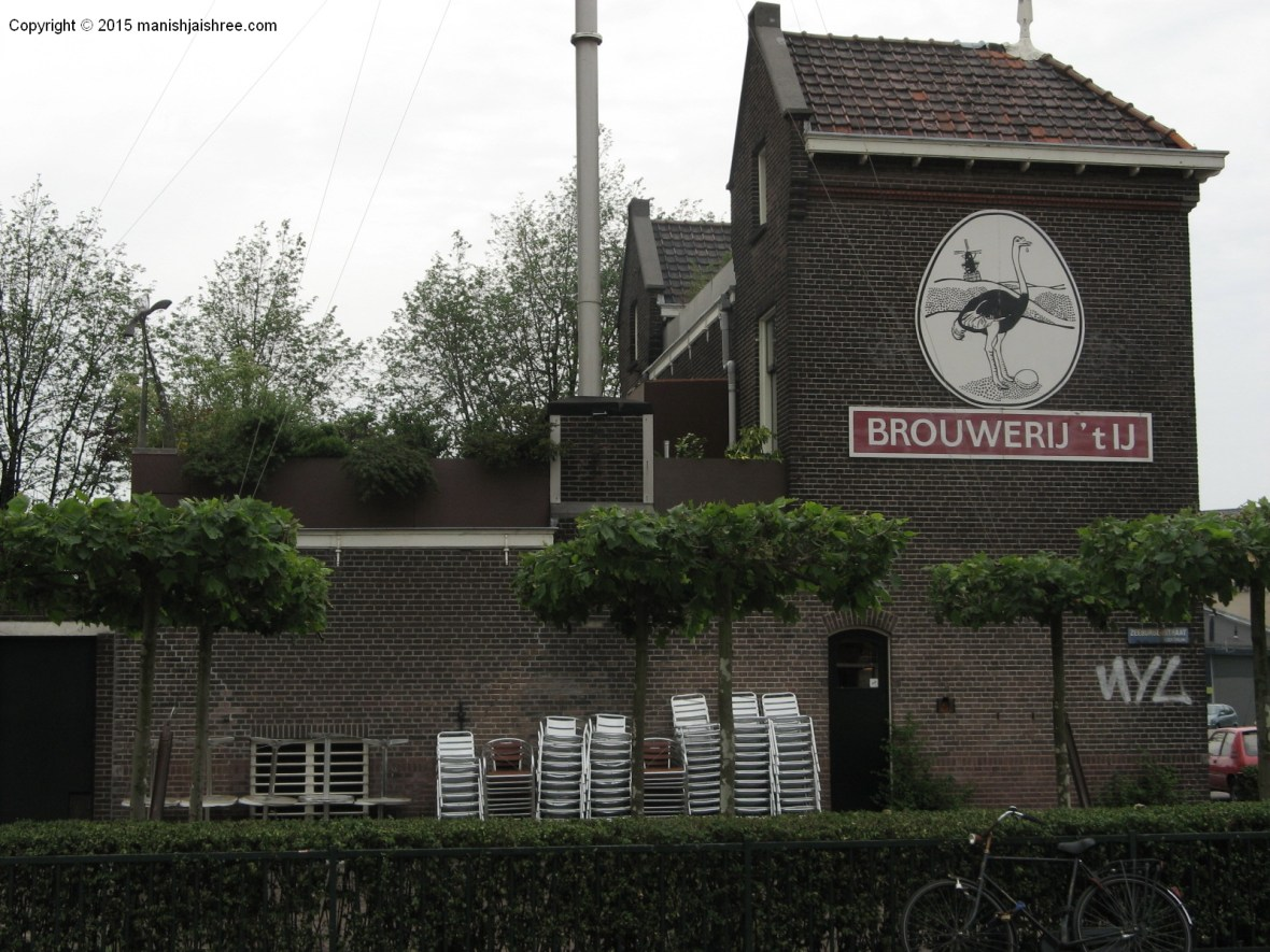 The old brewery, Amsterdam