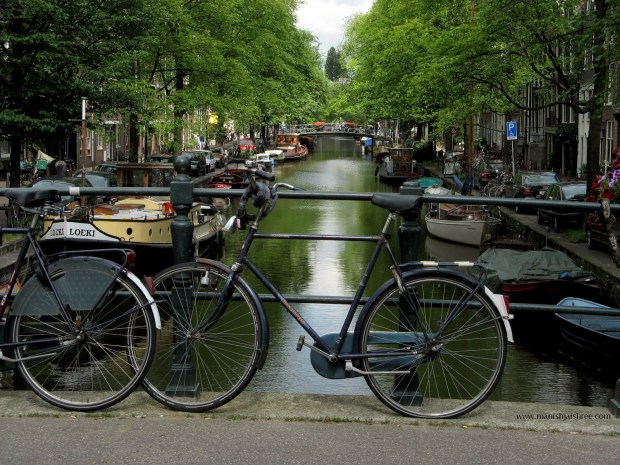 Amsterdam - the bike city