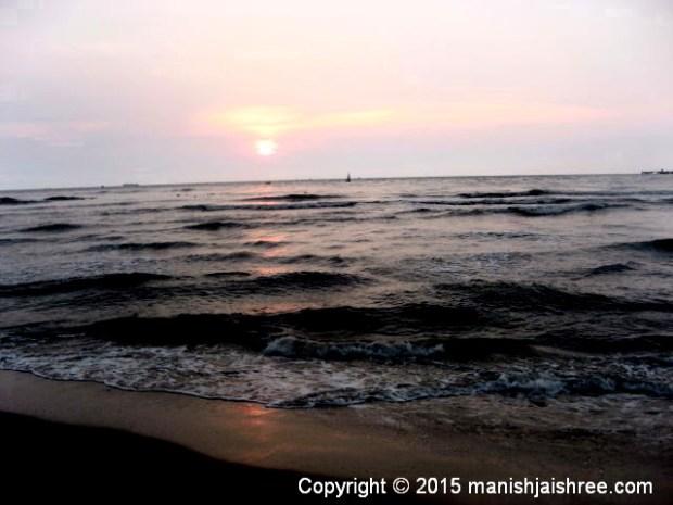 The Cochin Beach