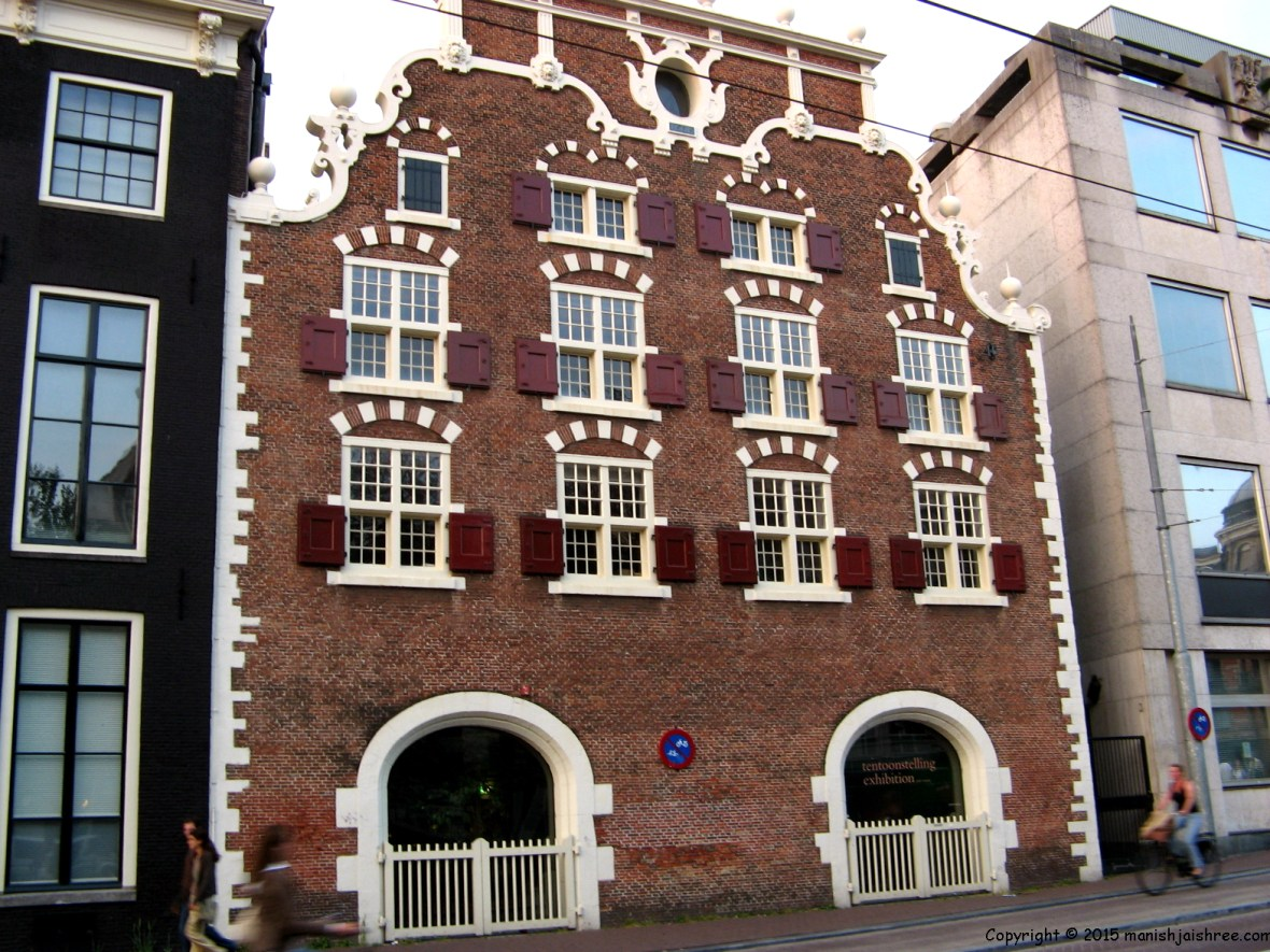 A house with beautiful windows, Amsterdam
