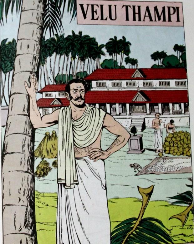 Velu Thampi (courtesy Amar Chitra Katha)