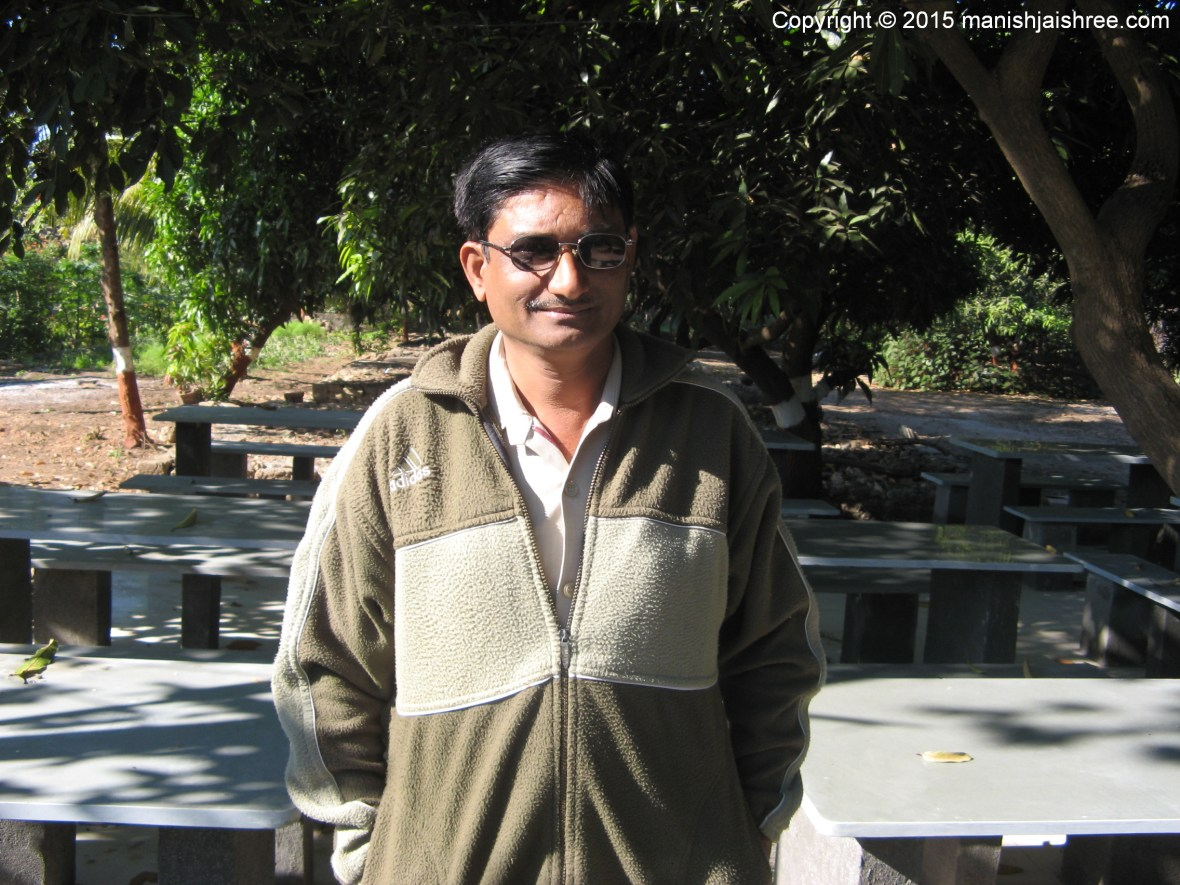 Shamsuddin Bhai, Owner Gir Jungle Resort, Sasan Gir