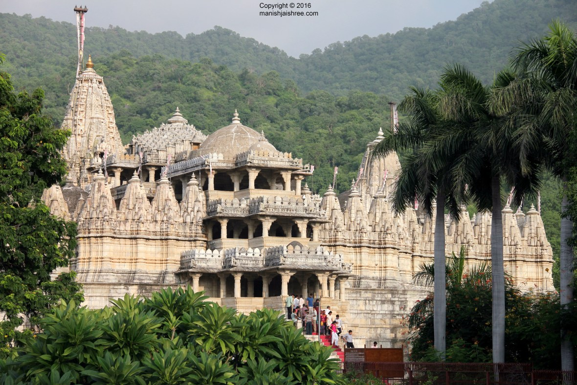 First glance of Ranakpur