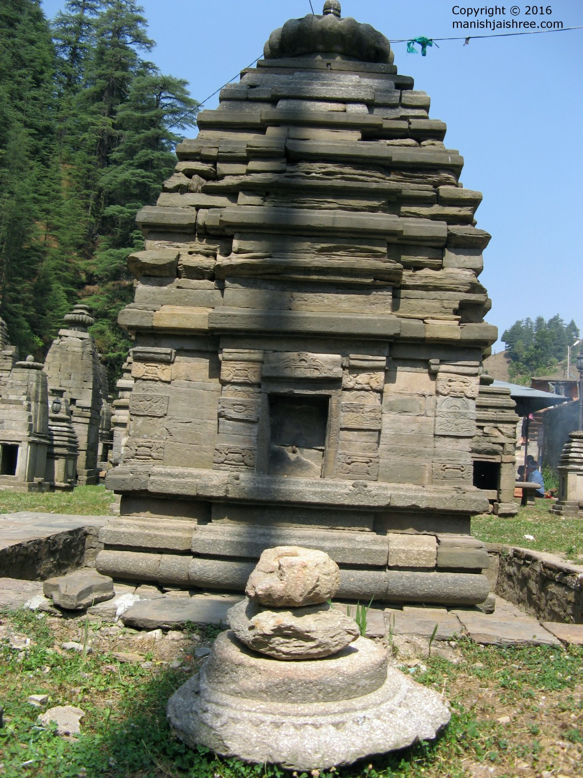 A beautiful small temple at Jageshwar Temple Complex