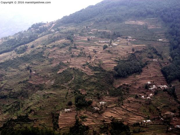 View from the trek, Munsiyari
