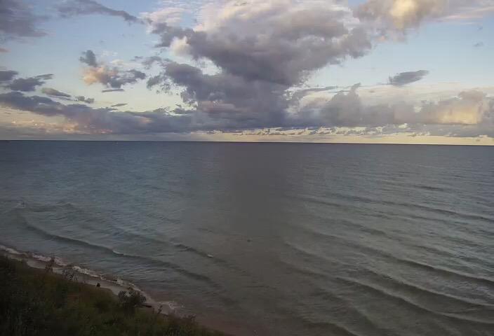 Area Fishing Report Sept 11 - Manistee Lake Michigan Surf Cam