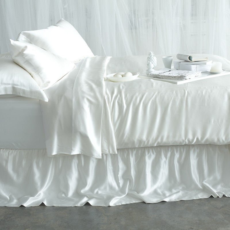 Silk Flat Sheet  Flat Silk Sheets  Mulberry Silk Sheets